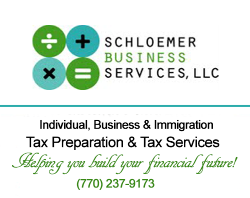 Schloemer Business Services, LLC - Atlanta Based Tax and Bookkeeping Services